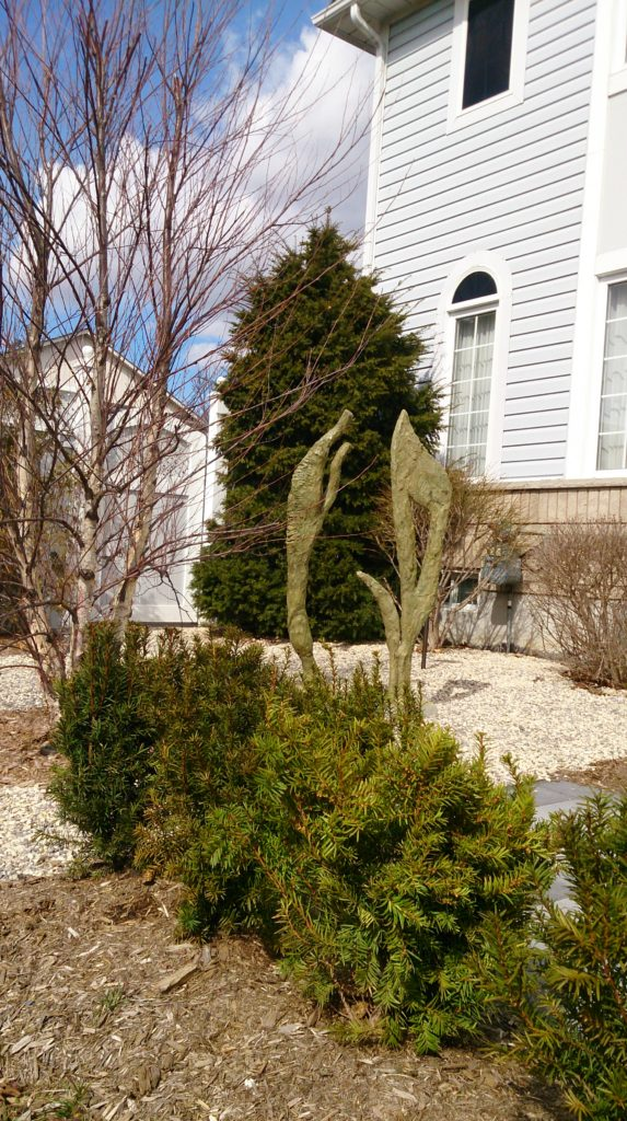 Driftwood I & II Sculptures
