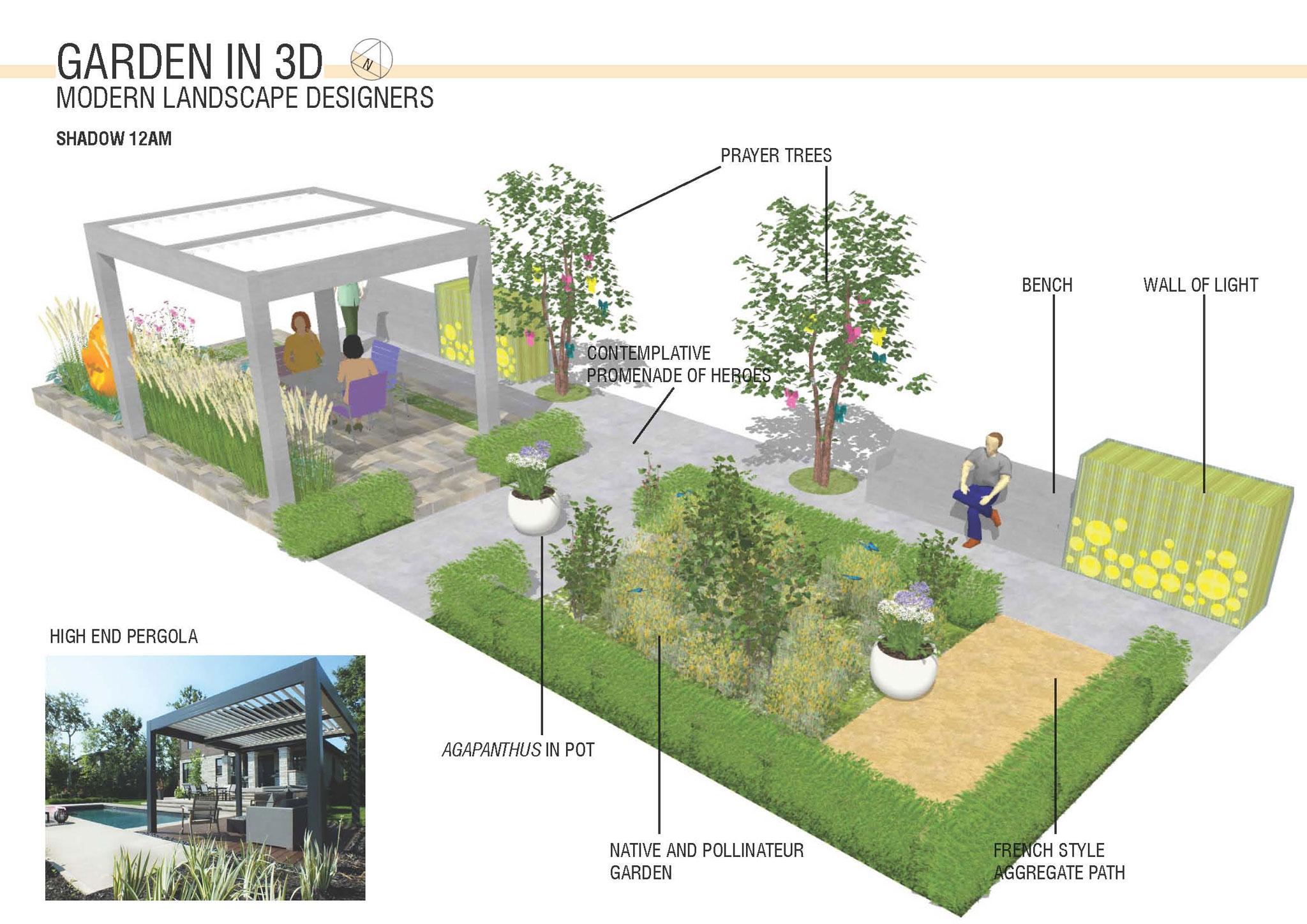 Healing Therapeutic Garden Design Modern Landscape Designers