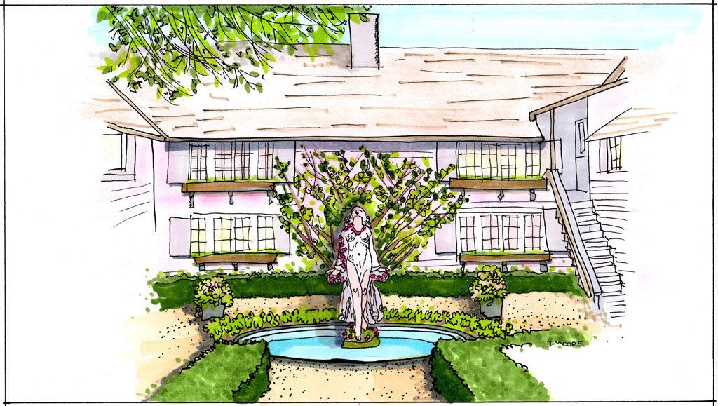 White Garden Design - Sur La Cote