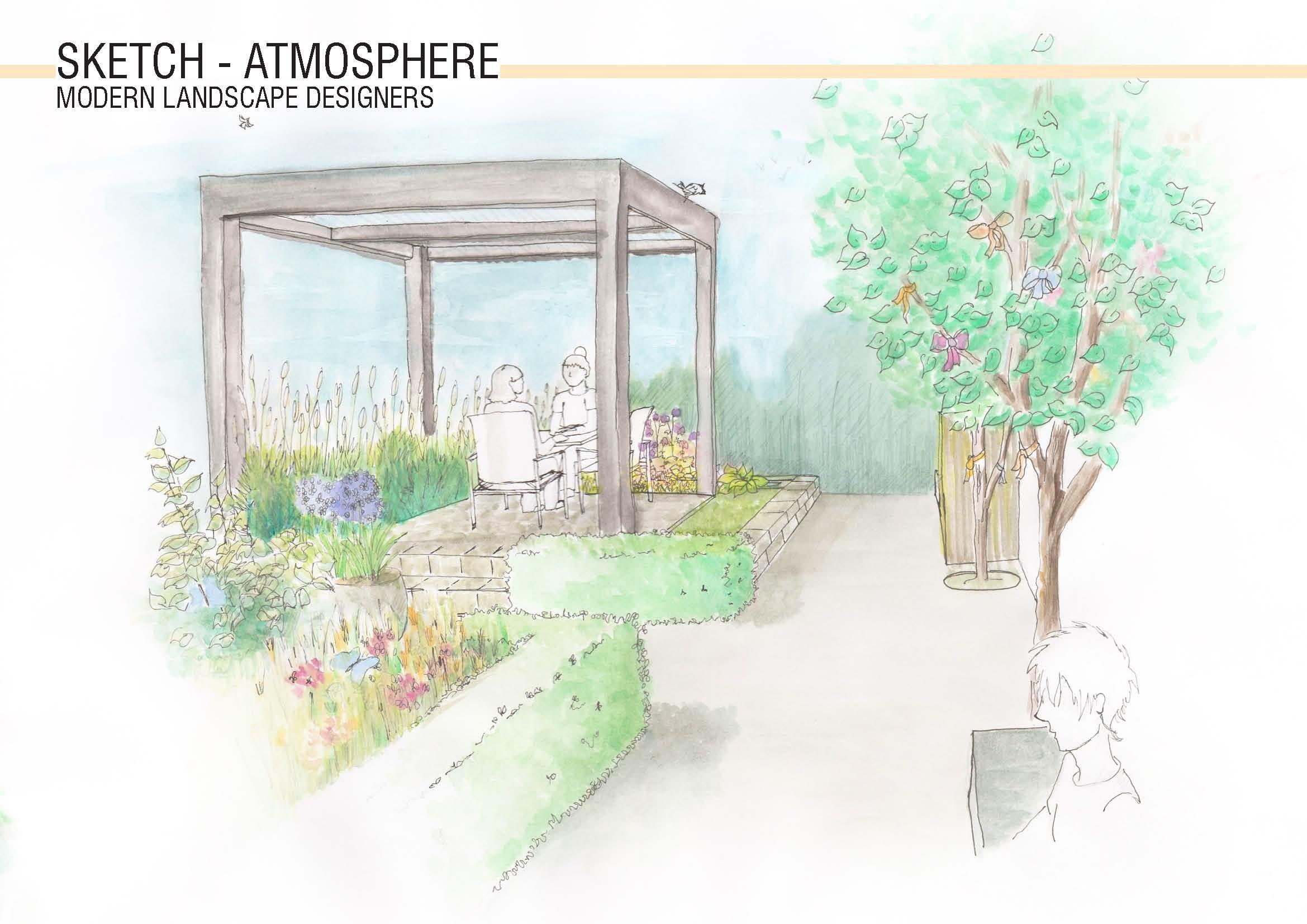 Healthcare Garden Design Rendering 6