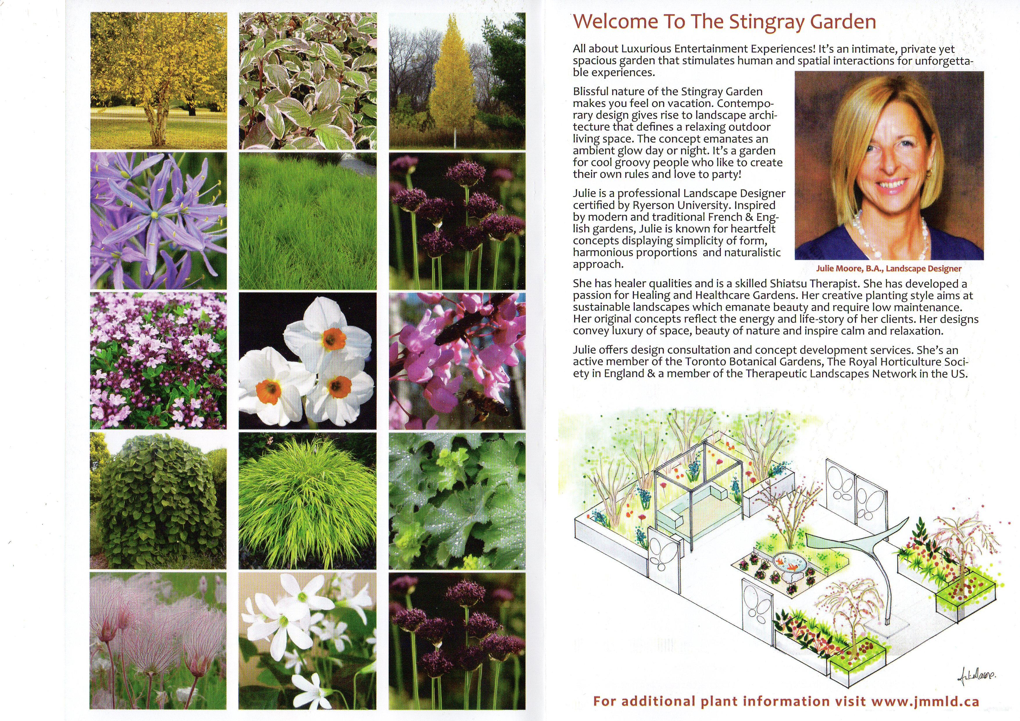 StingRay Garden Brochure Inside